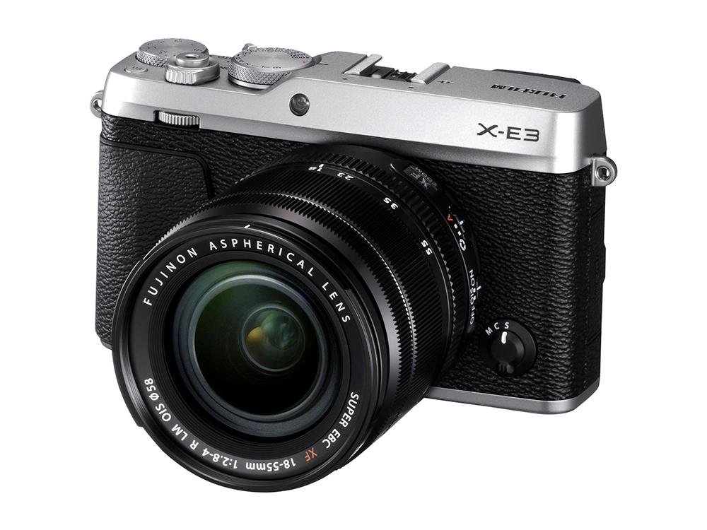 the Fujifilm X-E3