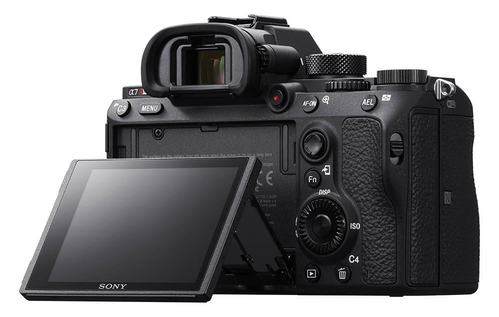 Sony A7R III rear view