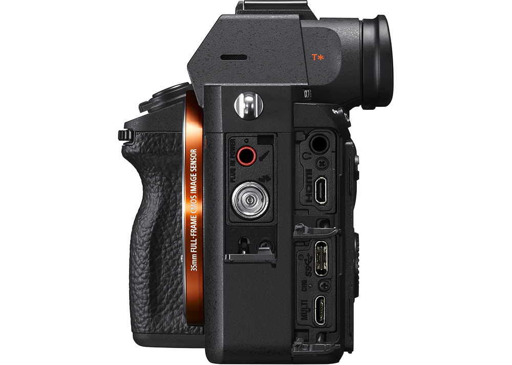 Sony A7R III connections