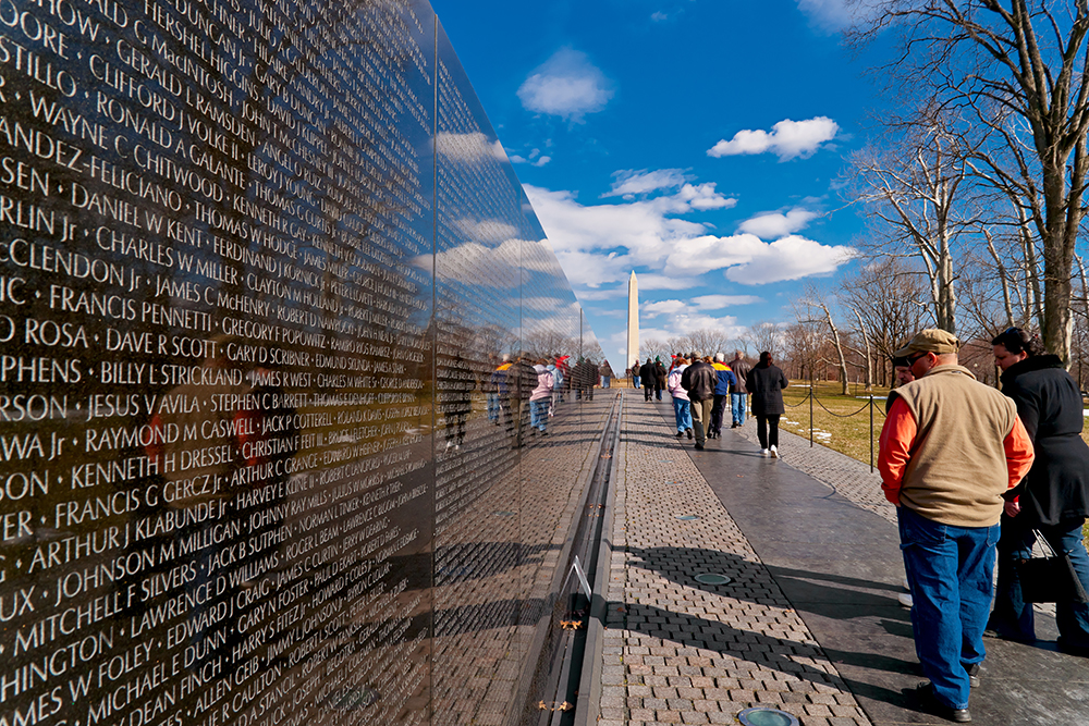 Vietnam Veterans Memorial  |  Featured Image of the Week